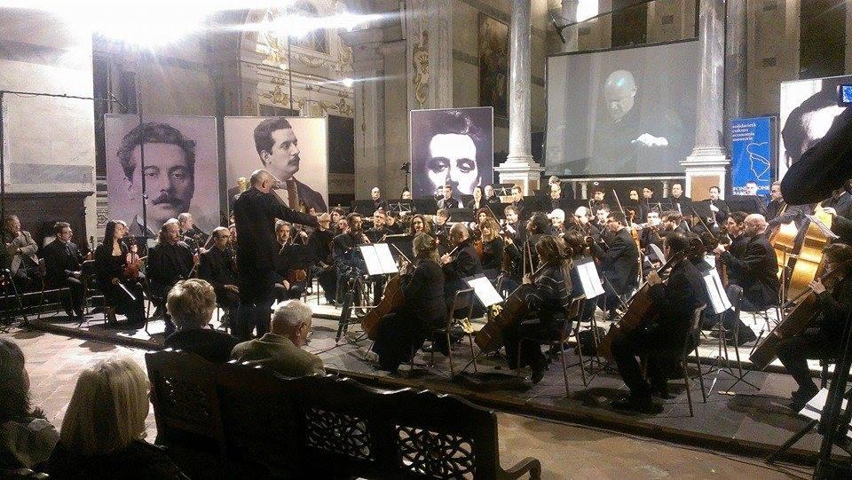 Primo appuntamento con la stagione sinfonica 2014 dell'Orchestra Filarmonica di Lucca