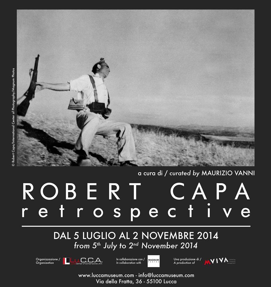 """""""Retrospective"""", la mostra di Robert Capa al Lu.C.C.A."""