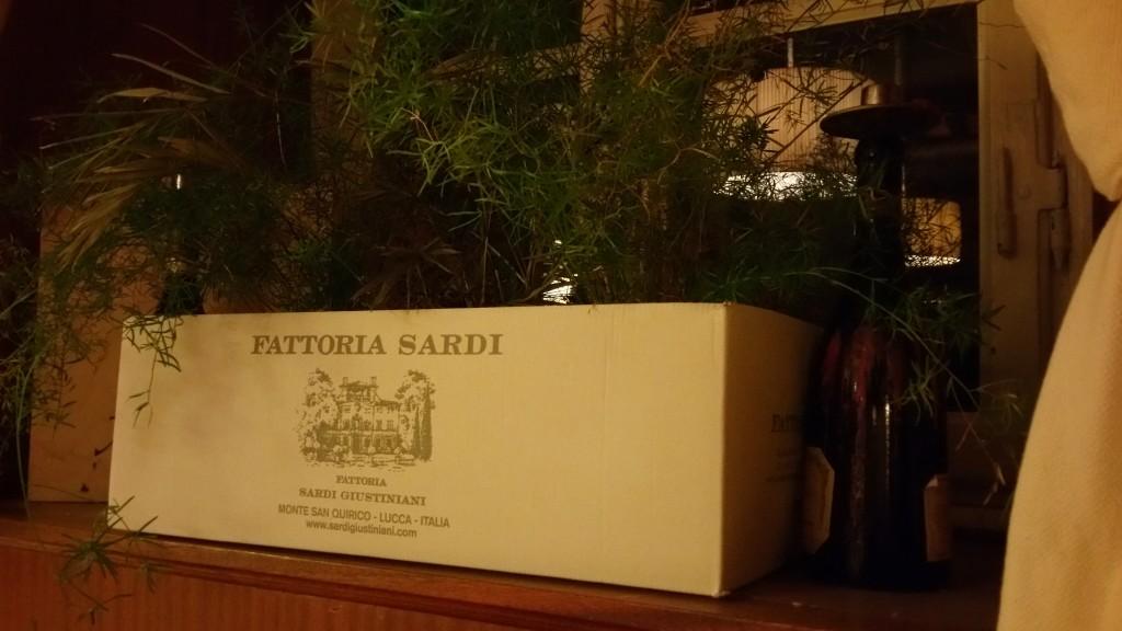 Territorio da bere. Fattoria Sardi Giustiniani.