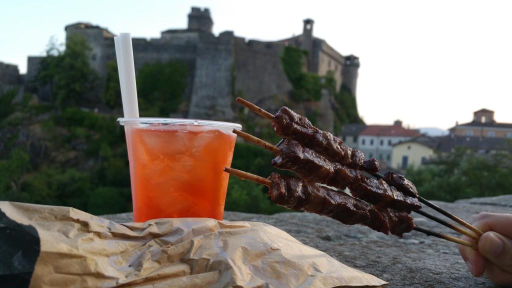 Castle Street Food. Il cibo da strada al Castello di Bardi!