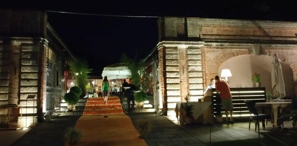 Cena sulle Mura di Lucca al Ristorante San Colombano