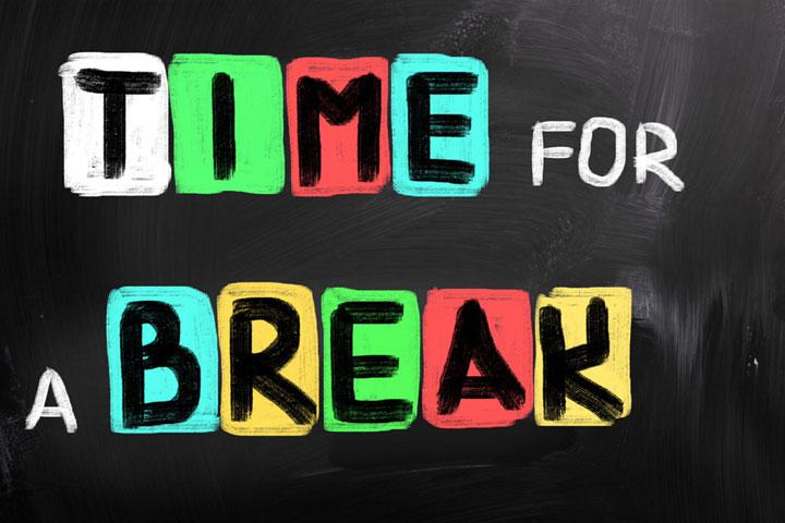 E' tempo di metterci in pausa…