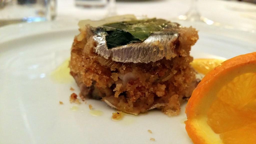 Cena siciliana all'Antica Locanda dell'Angelo