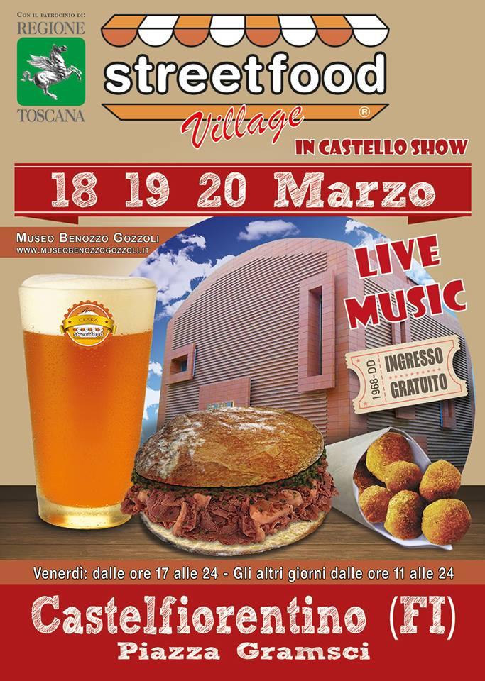 Streetfood Village in Castello Show