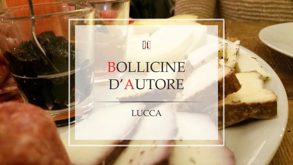 """L'aperitivo """"rinforzato"""" al Bollicine d'Autore…"""