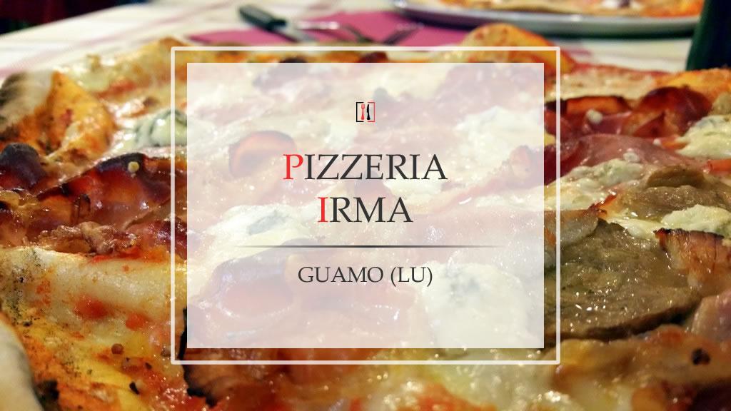 Pizzeria Irma, come sentirsi a casa