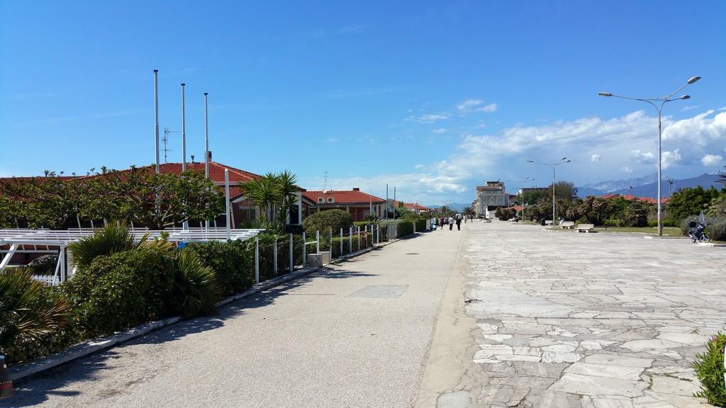 Ristorante Bagno Piave a Viareggio recensione del locale sul mare