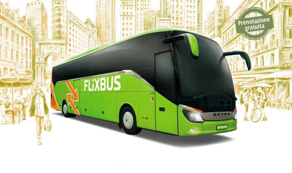 Offerta FlixBus Voucher: 10% di sconto sul secondo ordine