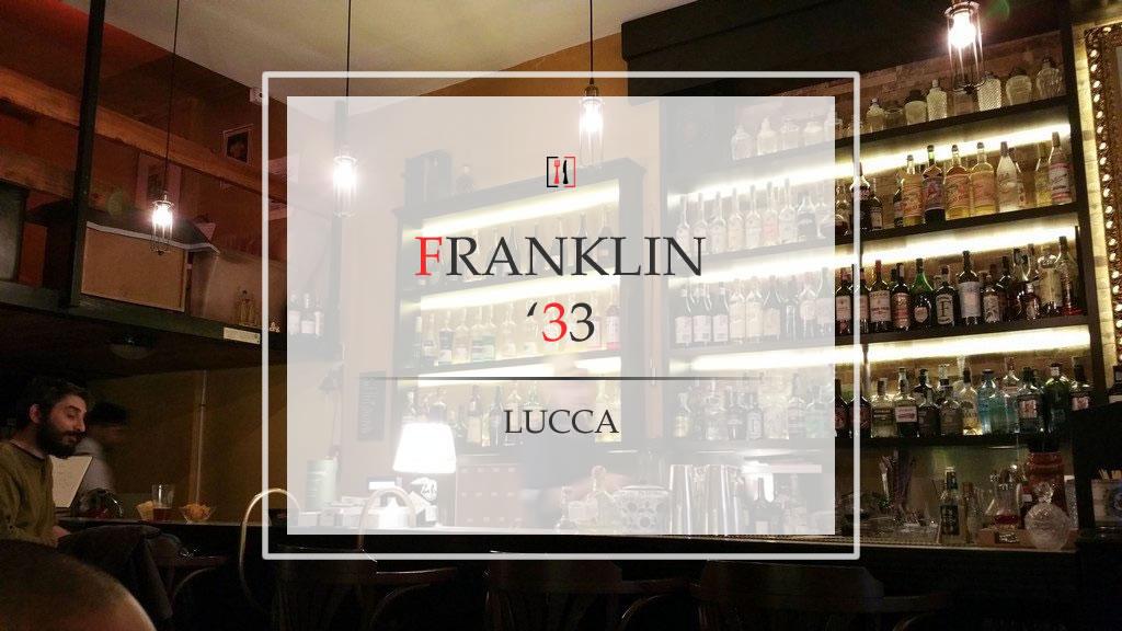 Franklin '33, un flashback negli anni 30 del proibizionismo americano