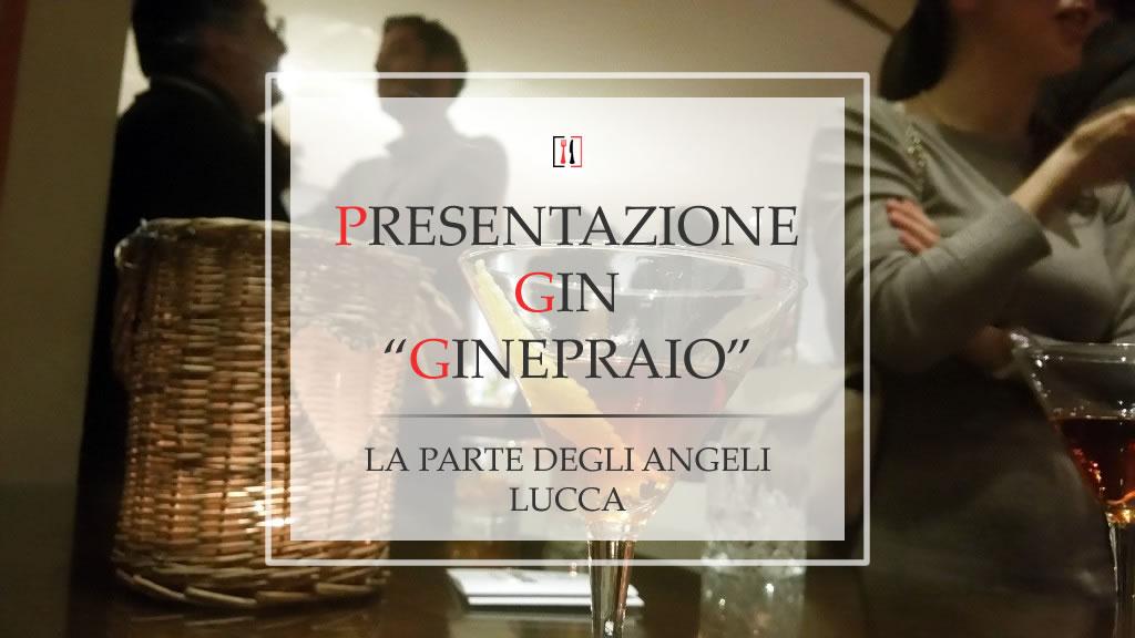 Ginepraio a Lucca. Il Dry Gin 100% toscano di Enzo Brini.