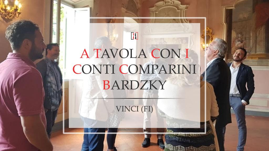 A tavola (e non solo) con i Conti Comparini Bardzky, viaggio attraverso Faltognano con il padrone di casa