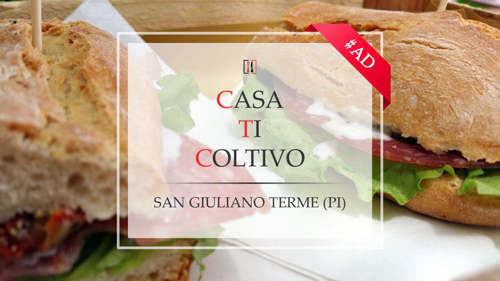 """Casa Ti Coltivo. Un'oasi """"green"""" a San Giuliano Terme."""
