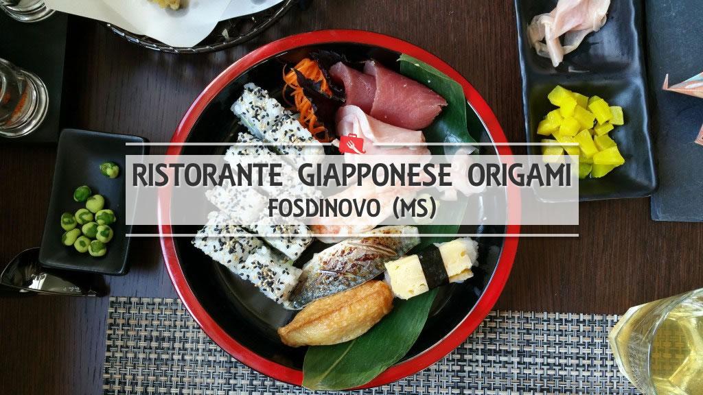 Origami, la cucina tradizionale giapponese a Fosdinovo