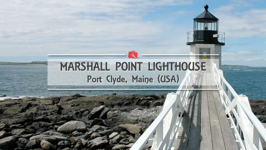 Marshall Point Lighthouse, dove Forrest Gump toccò l'Atlantico