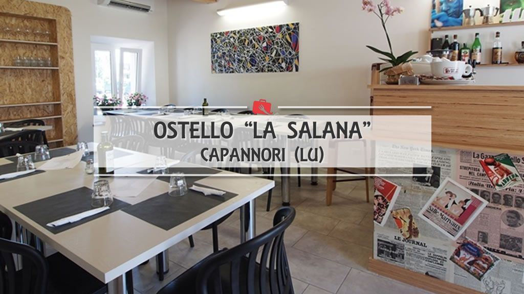 Ostello La Salana: una pausa pranzo alternativa.